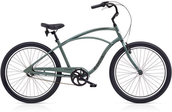 Electra Cruiser Lux 3i Step-Over Color: Anthracite