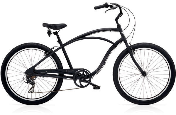 Electra Cruiser Lux 7D Step-Over Color: Matte Black