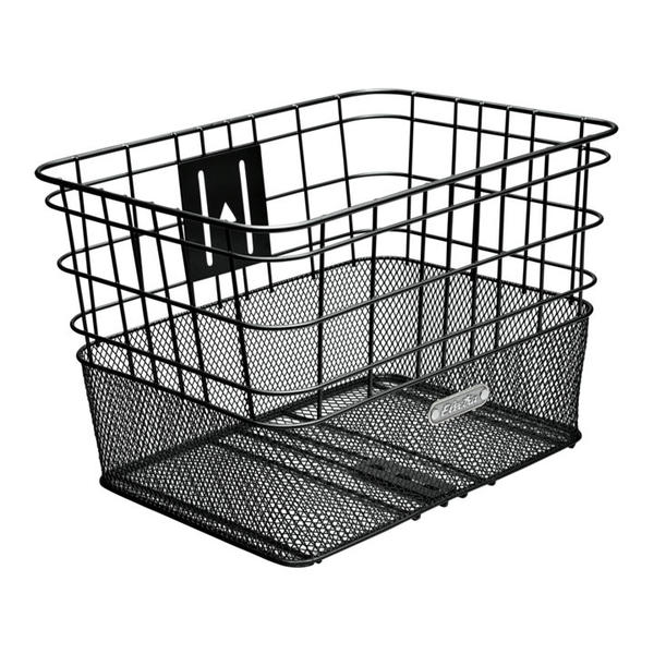 Electra Wire Mesh Front basket Color: Black