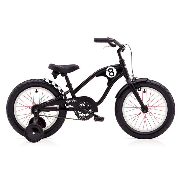 Electra Straight 8 1 (16-inch) - Boy's Color: Matte Black