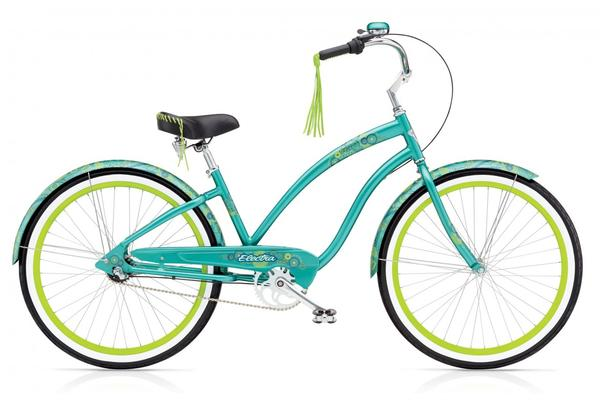 Electra Dreamtime 3i Ladies' Color: Emerald