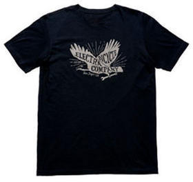 Electra Eagle T-Shirt Color: Black