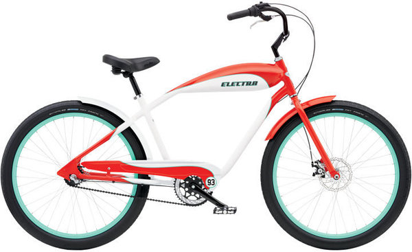Electra EBC '93 3i Color: Red/White