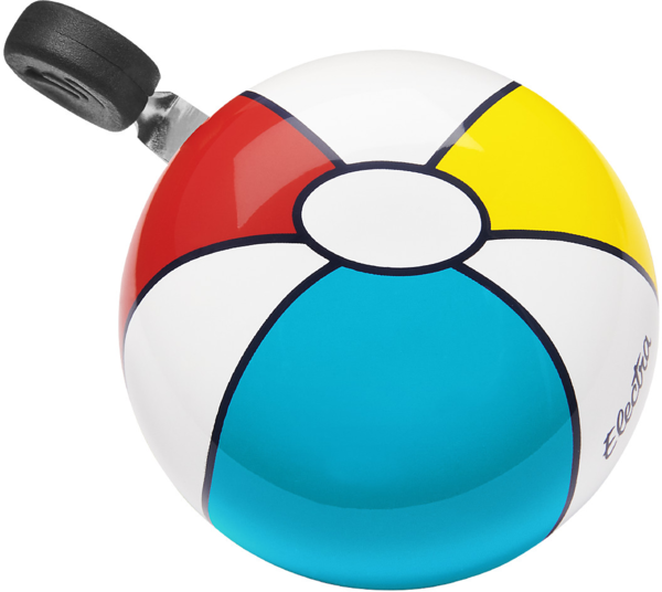 Electra Beach Ball Small Ding-Dong Bike Bell Color: Cream