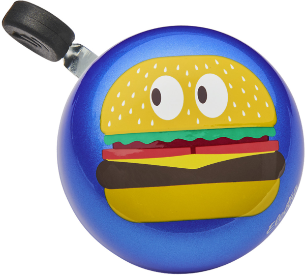 Electra Burger Small Ding-Dong Bike Bell Color: Blue Metallic