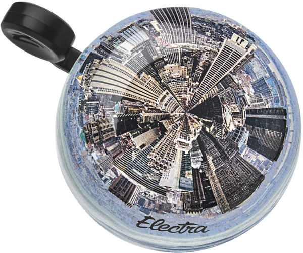 Electra City Domed Ringer Bike Bell Color: Light Grey