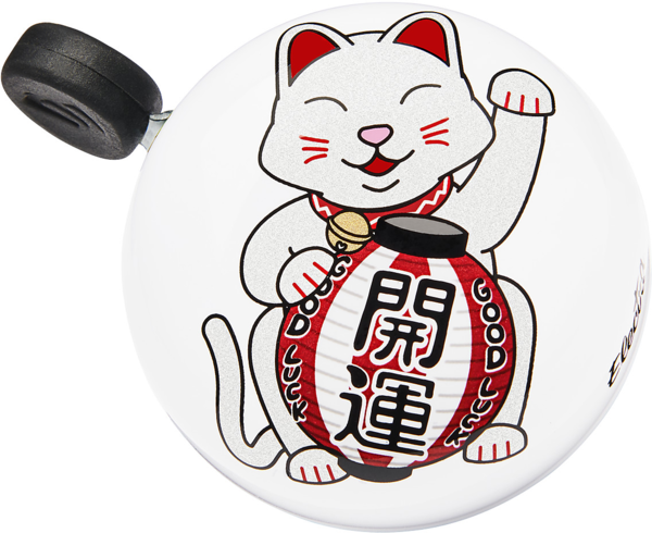 Electra Lucky Cat Domed Ringer Bike Bell Color: Pearl White
