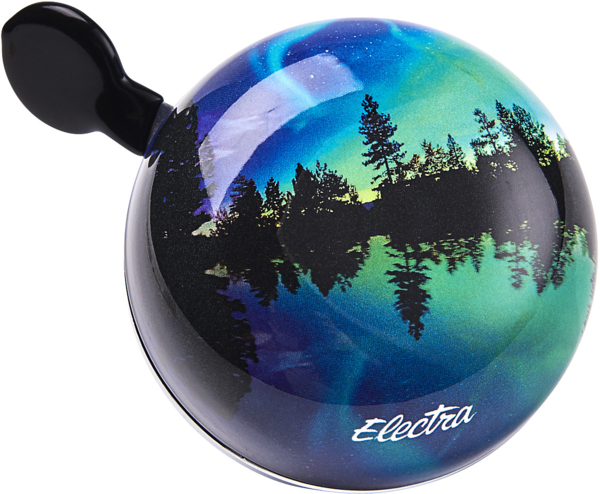 Electra Northern Lights Small Ding-Dong Bike Bell Color: Dark Blue
