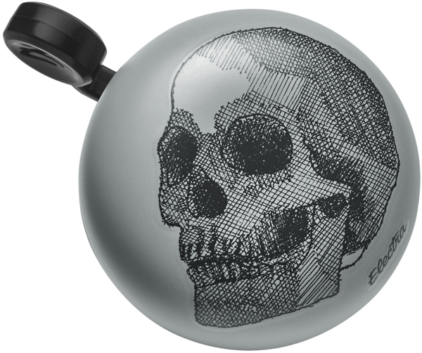 Electra Skull Domed Ringer Bike Bell Color: Dark Grey
