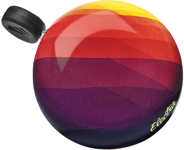 Electra Sunrise Domed Ringer Bike Bell Color: Sangria