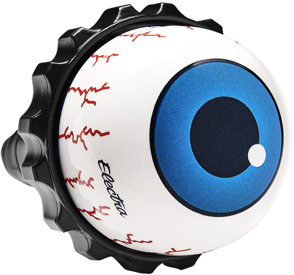 Electra Eyeball Twister Bike Bell Color: White/Blue