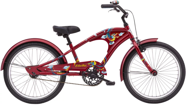 Electra Firetail 1 20-inch Color: Scorched Red