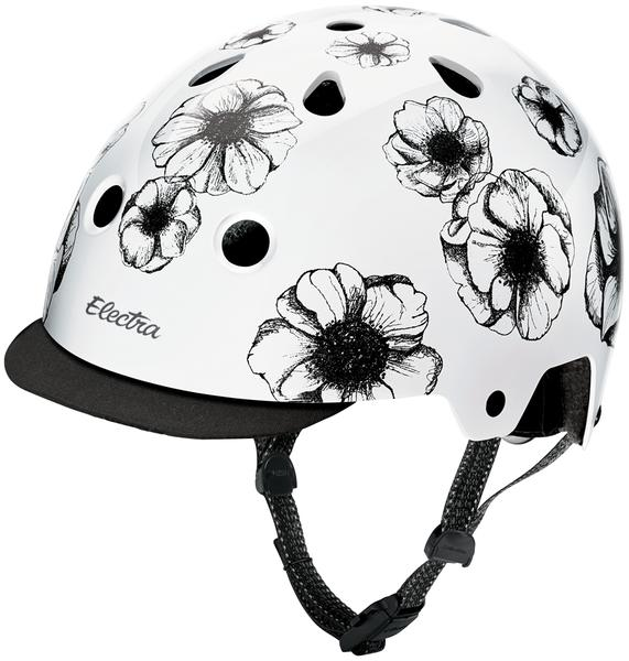 Electra Floral Bike Helmet Color: Flowers