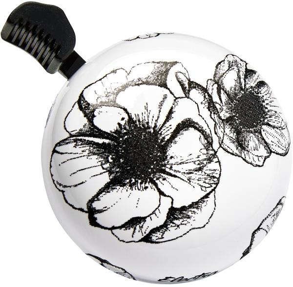 Electra Floral Domed Ringer Bell Color: White