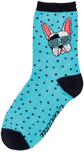 Electra Frenchie 5-inch Socks Color: Bahama Blue