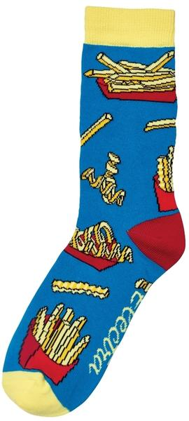 Electra Fries 9-inch Socks Color: Electra Blue