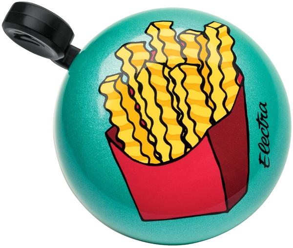 Electra Fries Domed Ringer Bell Color: Teal