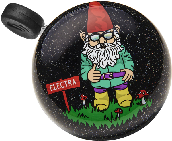 Electra Gnome Domed Ringer Bike Bell Color: Cosmic Black