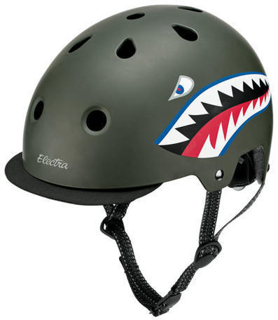 Electra Graphic Helmet Color: Tigershark