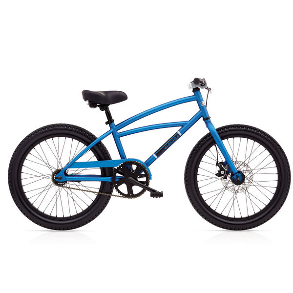 Electra Moto 3i (20-inch) - Boy's Color: Blue