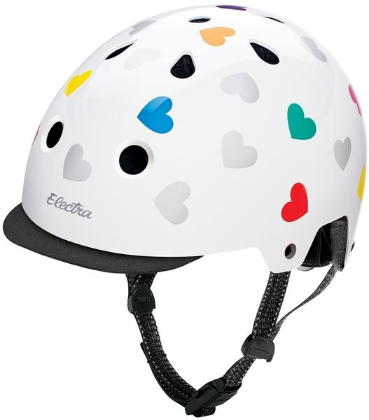 Electra Heartchya Helmet Color: White