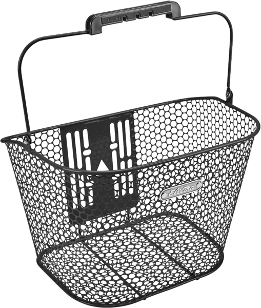 Electra Honeycomb Front QR Basket Color: Black