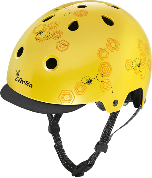 Electra Honeycomb Lifestyle Lux Bike Helmet Color: Sun Yellow