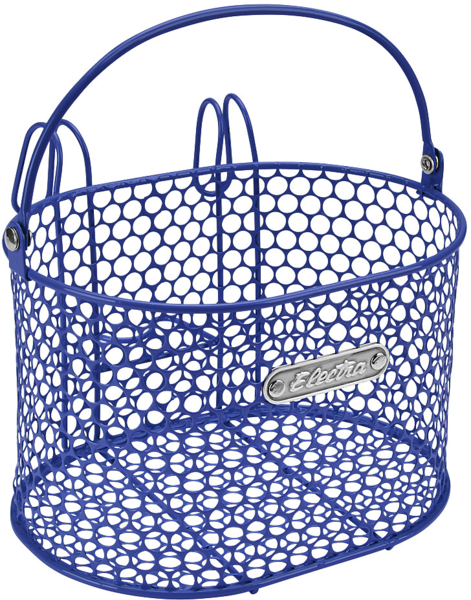 Electra Honeycomb Small Hook-Mounted Handlebar Basket Color: Dark Blue