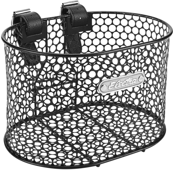 Electra Honeycomb Small Strap-Mounted Handlebar Basket Color: Black