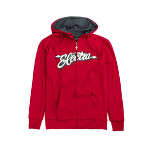 Electra Hoodie Color: Red