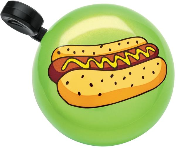 Electra Hot Dog Domed Ringer Bell Color: Visibility Green