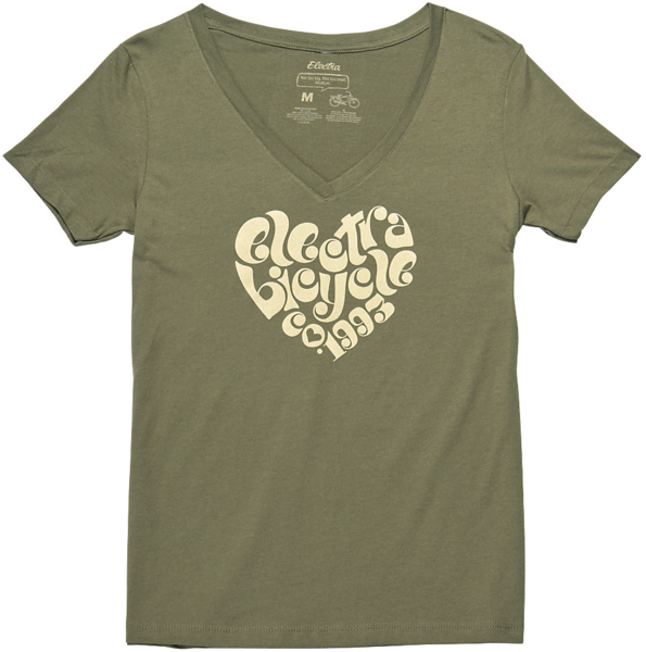 Electra Ladies' 1993 T-Shirt Color: Olive Grey