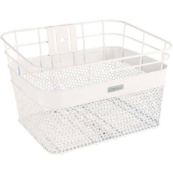 Electra Linear Mesh Basket Color: White