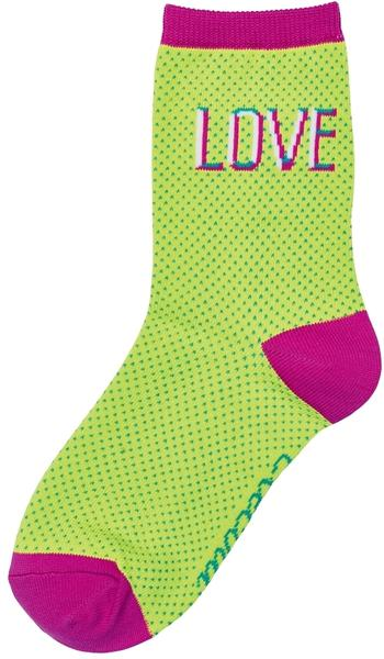 Electra Love 5-inch Socks Color: Visibility Yellow