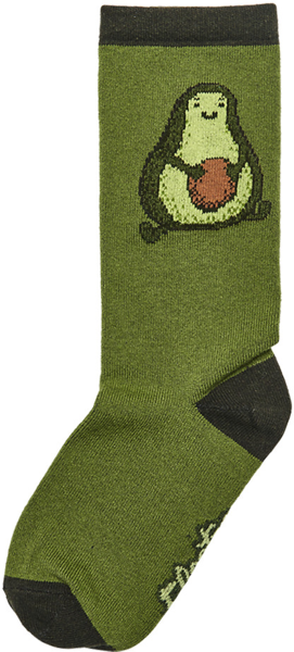 Electra Love-Ocado Socks Color: Green