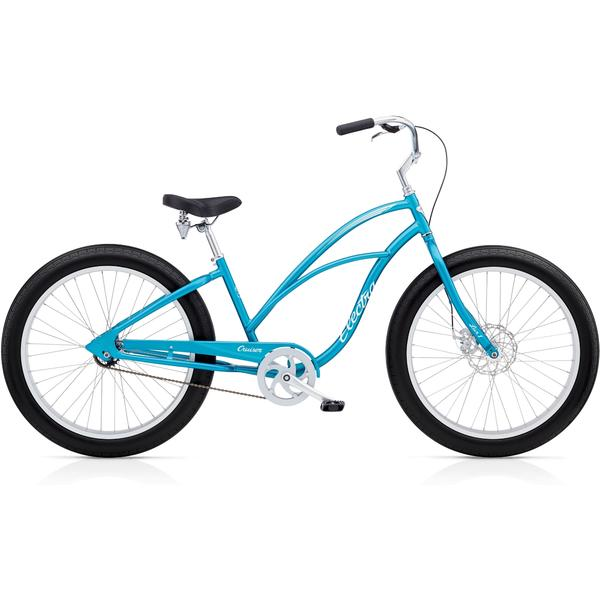 Electra Cruiser Lux Fat Tire 1 Ladies Color: Blue Metallic