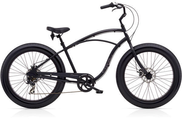 Electra Cruiser Lux Fat Tire 7D Color: Matte Black