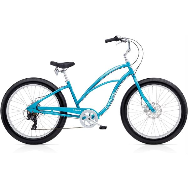 Electra Cruiser Lux Fat Tire 7D Ladies' Color: Blue Metallic