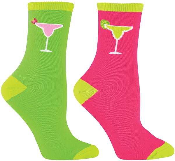 Electra Margarita 5-inch Socks Color: Dark Pink