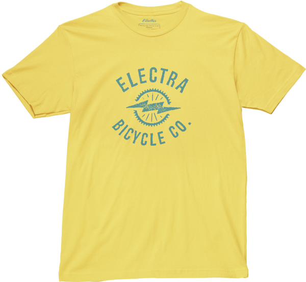 Electra Men's Bolt T-Shirt Color: Sun Yellow