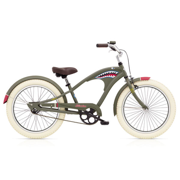 Electra Tiger Shark 3i (20-inch) - Boys' Image of three-speed bike not available
