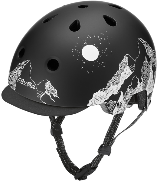 Electra Mountain Sky Lifestyle Lux Bike Helmet Color: Black/White