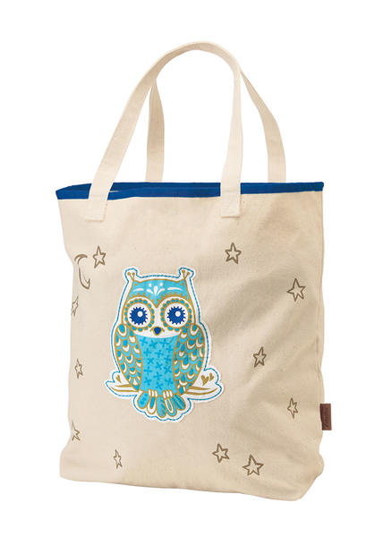 Electra Night Owl Canvas Tote