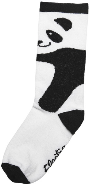 Electra Panda Socks Color: White/Black