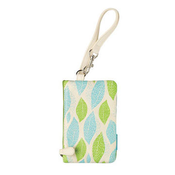 Electra Phone Wristlet Color: Leaves