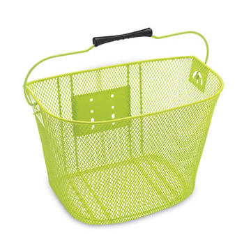Electra Quick-Release Steel Mesh Basket Color: Green