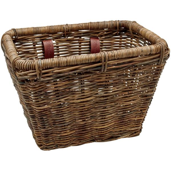 Electra Rattan Basket Color: Brown