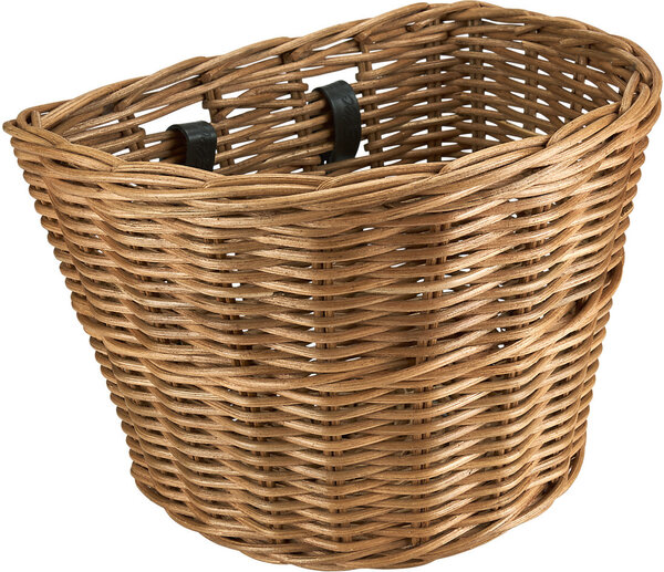 Electra Rattan Large Basket Color: Natural