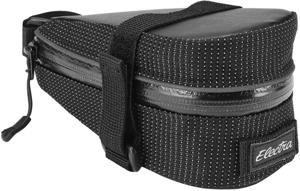 Electra Reflective Charcoal Saddle Bag Color: Reflective