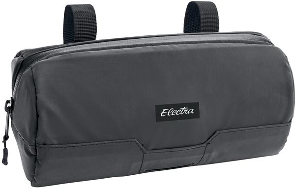 Electra Reflective Commuter Saddle/Handlebar Bag Color: Black/Reflective